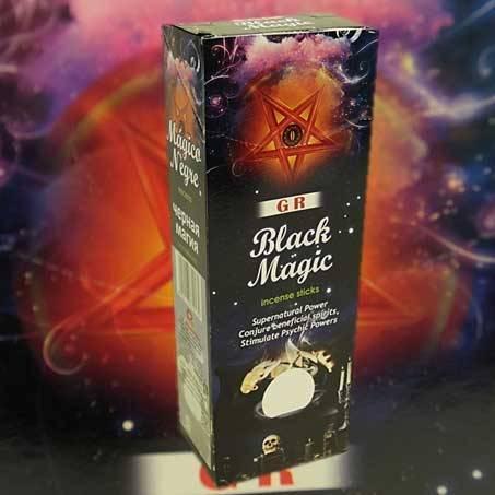 Räucherstäbchen Schwarze Magie